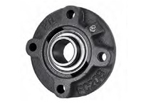 PTI UCFC216X3-1/8 PILOTED 4-BOLT FLANGE BEARING-3-1/8 UCFC 200 GOLD SERIES - NORMAL DUTY
