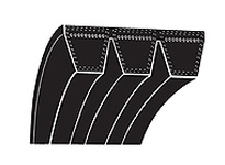 TBWOODS 5RDP225 5RDP225 BAND V-BELT