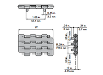System Plast 26056 LFG2121FT-PT-K325 MPB-INCH