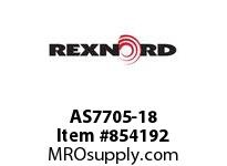 REXNORD AS7705-18 AS7705-18 AS7705 18 INCH WIDE MATTOP CHAIN WI