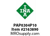 INA PAP0304P10 Plain bearing