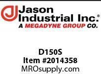 Jason D150S 1-1/2D SS COUPLER X F NPT