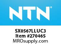 NTN SX0567LLUC3 SMALL SIZE BALL BRG(STANDARD)