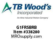 TBWOODS G1FRSBRB 1FX3/8 RB RIGID HUB
