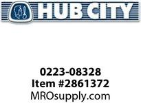 HUB CITY 0223-08328 SS66 CAP OPEN Service Part