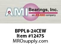 AMI BPPL8-24CEW 1-1/2 NARROW SET SCREW WHITE PILLOW PILLOW BLK/O.C&C.C