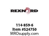 REXNORD 114-859-6 KU5996-14T 1-7/16 RD KW2S 142824
