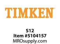 TIMKEN S12 Split CRB Housed Unit Component