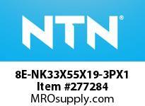 NTN 8E-NK33X55X19-3PX1 MACHINED RING NRB(RACE)