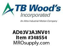 TBWOODS AD03V3A3NV01 AD-2 3HP 380V