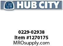 HubCity 0229-02938 SS260 KIT SLEEVE PROTECTOR 1.188
