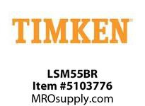 TIMKEN LSM55BR Split CRB Housed Unit Component
