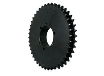 D100F35 Roller Chain Sprocket QD Bushed