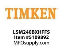 TIMKEN LSM240BXHFFS Split CRB Housed Unit Assembly