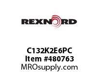 REXNORD 6063372 C132K2E6PC C132 K2 EV 6TH COTTER