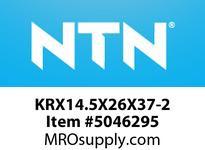 NTN KRX14.5X26X37-2 NEEDLE ROLLER BEARINGS MACHINED RING NRB-CAM FOLLOWER