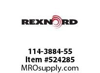 REXNORD 114-3884-55 KU820-32T 1-1/2 IDLER NYL 142632