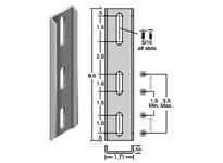 System Plast VG-201-S08 VG-201-S08 RAIL BRACKETS