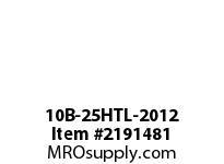 PTI 10B-25HTL-2012 METRIC SPROCKET TAPER-LOCK HARDENED TEETH