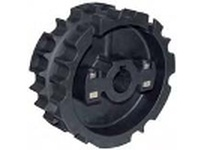 System Plast 121107N 820-25R35M-RS TWO PIECE MOLDED SPROCKETS