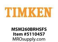 TIMKEN MSM260BRHSFS Split CRB Housed Unit Assembly