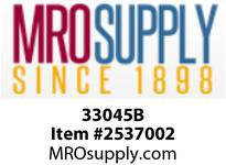 MRO 33045B 5/8 X 1/2 HB X MIP BLK POLY ELB (Package of 5)