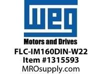 WEG FLC-IM160DIN-W22 METRIC C-DIN