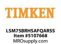 TIMKEN LSM75BRHSAFQARSS Split CRB Housed Unit Assembly