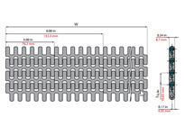 System Plast 261361 LFG2190FG-K3600 MPB-INCH