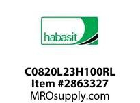 "Habasit C0820L23H100RL 820-23 X 1"" Split Idler Wheel"