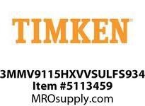 TIMKEN 3MMV9115HXVVSULFS934 Ball High Speed Super Precision