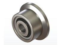 PCI FTRY-2.50 FLANGED TRACK ROLLER YOKE STYLE BEARING FLANGED 2.50 DIAMETER