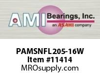 AMI PAMSNFL205-16W 1 POLY-ACETAL SINGLE ROW WHITE 2-BO SLEEVEUNDERWATER BEARING