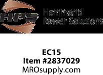 HPS EC15 FUSE KIT RATED 250V 15.0A Control Fuse Kit