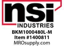 NSI BKM1000480L-M 1000W MH 480V W/ CAP/BRACKETS W/LAMP