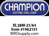 Champion XL28M-21/64 BRUTE MECHANICS LENGTH DRILL