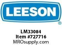Leeson LM33084 1.5Hp 1800.145T Tefc 230/460V 3Ph 60Hz Cont 40C Rigid