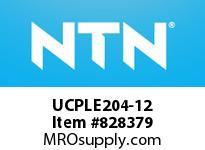 NTN UCPLE204-12 Bearing Units - Cast Iron