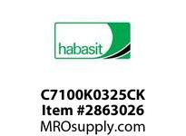 "Habasit C7100K0325CK 7100 3.25"" Connecting Kit"