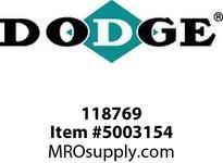 DODGE 118769 8/5V10.9 BOLT ON SHV FOR 19KSD DRIVE COMPONENTS