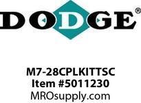 DODGE M7-28CPLKITTSC MTA SIZE 7315 280TSC COUPLING KIT RENEWAL PARTS