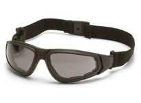 Pyramex GB4020ST Black Frame/Gray Anti-Fog Lens