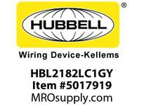 HBL_WDK HBL2182LC1GY LOAD CTRL HGR SPLT CIRC 20A 5-20R GY