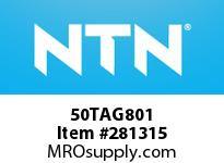 NTN 50TAG801 THRUST BALL BRG