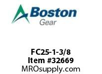 BOSTON 52408 FC25-1-3/8 STEEL COUPLINGS