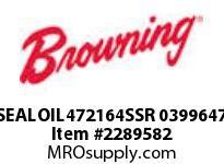 Browning SEALOIL472164SSR 0399647 RENEWAL PARTS USGM