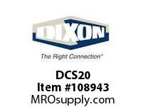 DIXON DCS20 1/4 X 1/4 F NPT AIR CHIEF CPLR SS