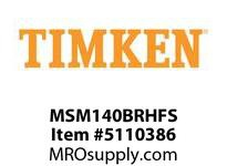 TIMKEN MSM140BRHFS Split CRB Housed Unit Assembly