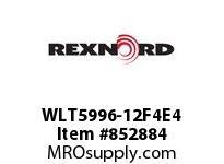 REXNORD WLT5996-12F4E4 WLT5996-12 F4 T4P WLT5996 12 INCH WIDE MATTOP CHAIN W