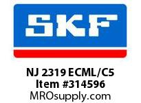 SKF-Bearing NJ 2319 ECML/C5